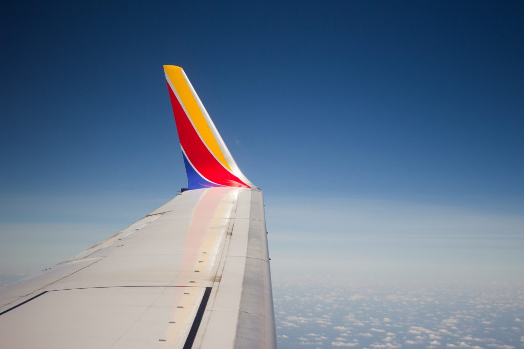 Southwest Airlines Wing Tip -- JackHarner @ Unsplash